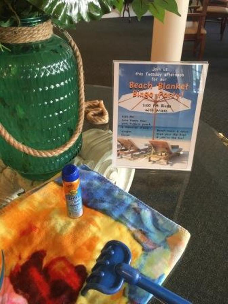 Bingo Party at Savannah Grand of Sarasota senior living