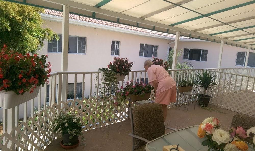 Balcony at Savannah Grand of Sarasota senior living
