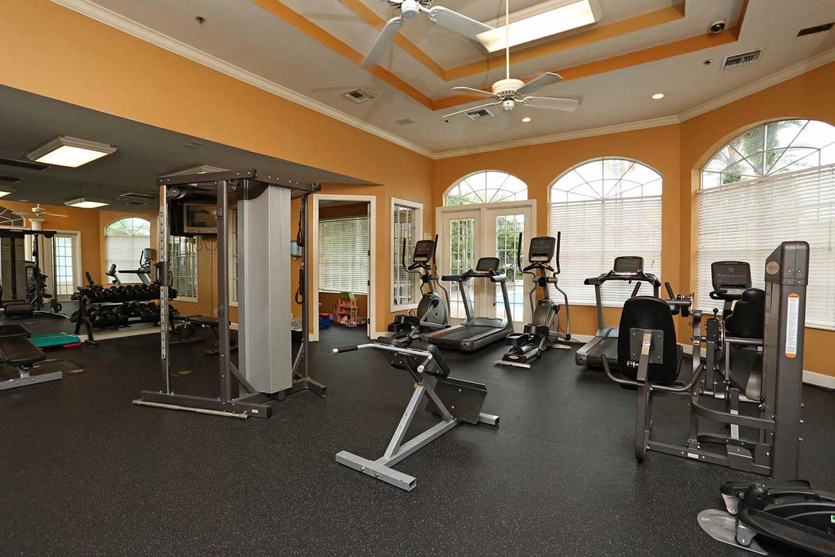 The Grand Reserve at Lee Vista fitness center in Orlando, FL