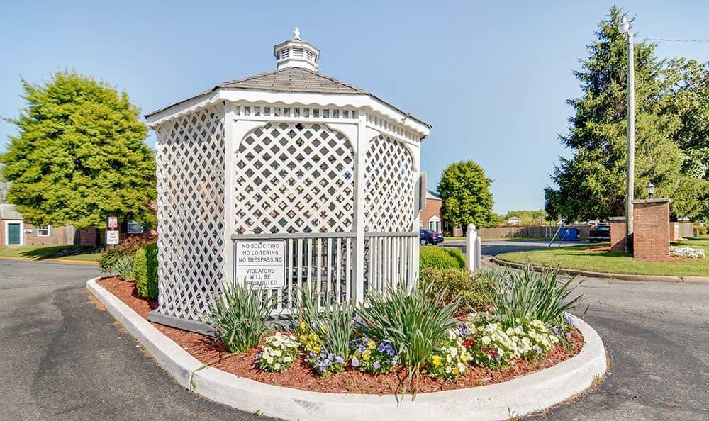 Gerwyn Manor Community Entrance In Sandston VA