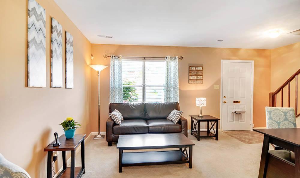 Luxury Living Rooms At Gerwyn Manor Homes