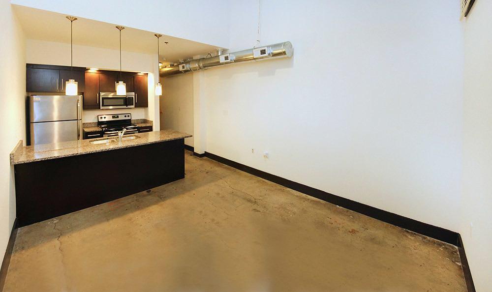 Kitchen at {[location_name}} in Richmond, VA