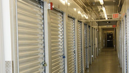 Inside our units at Highway 70 Self Storage