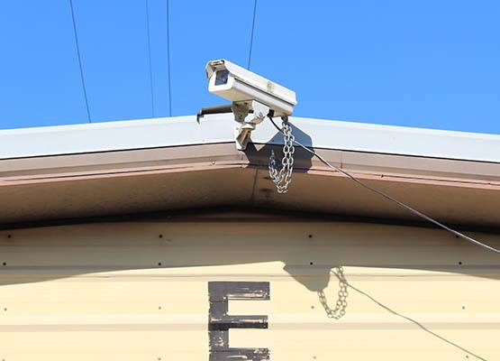 Cottage Grove self storage security camera
