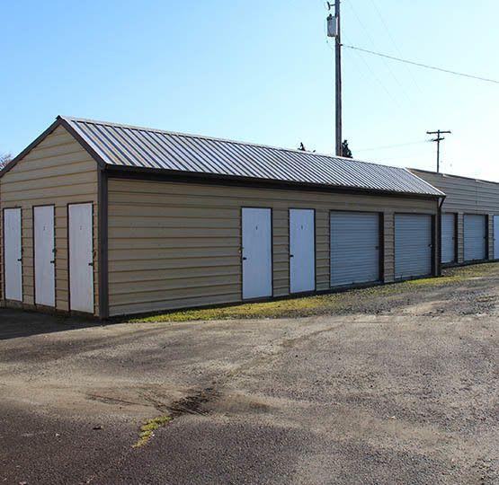 Cottage Grove exterior self storage units
