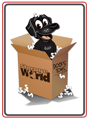 Meet our loyal Storage World mascot, Dock!