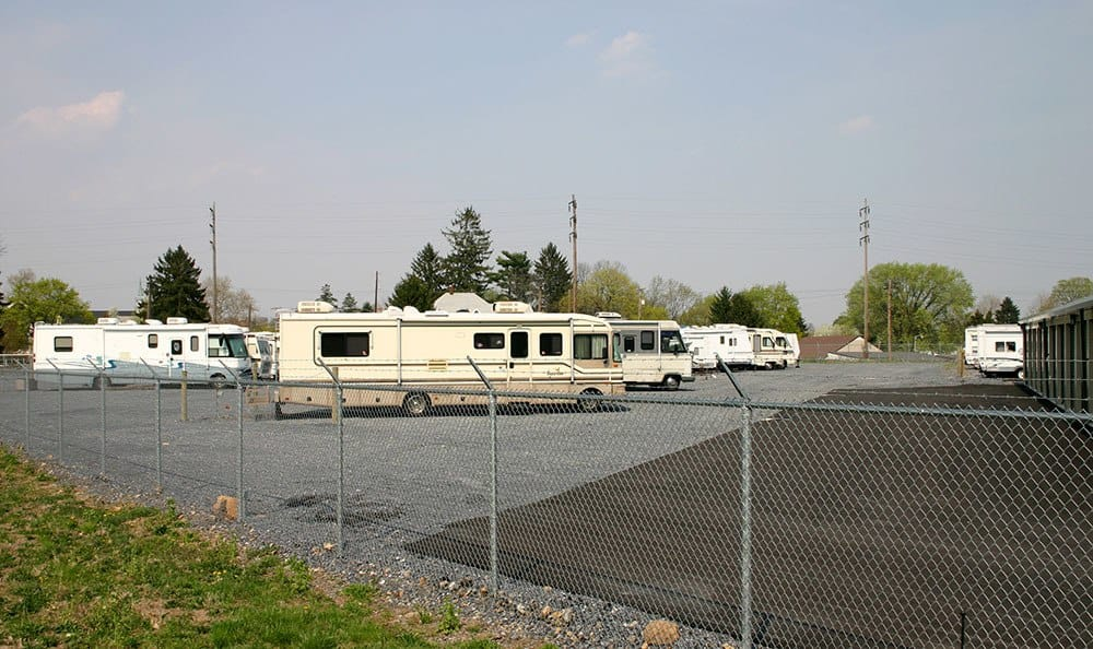 Storage World RV parking