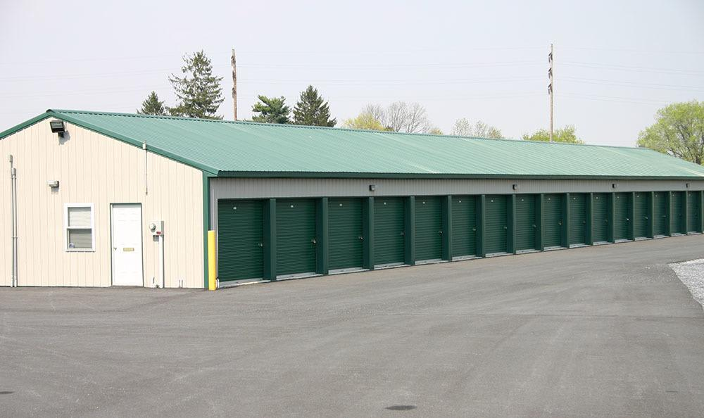 Row of Units at Storage World