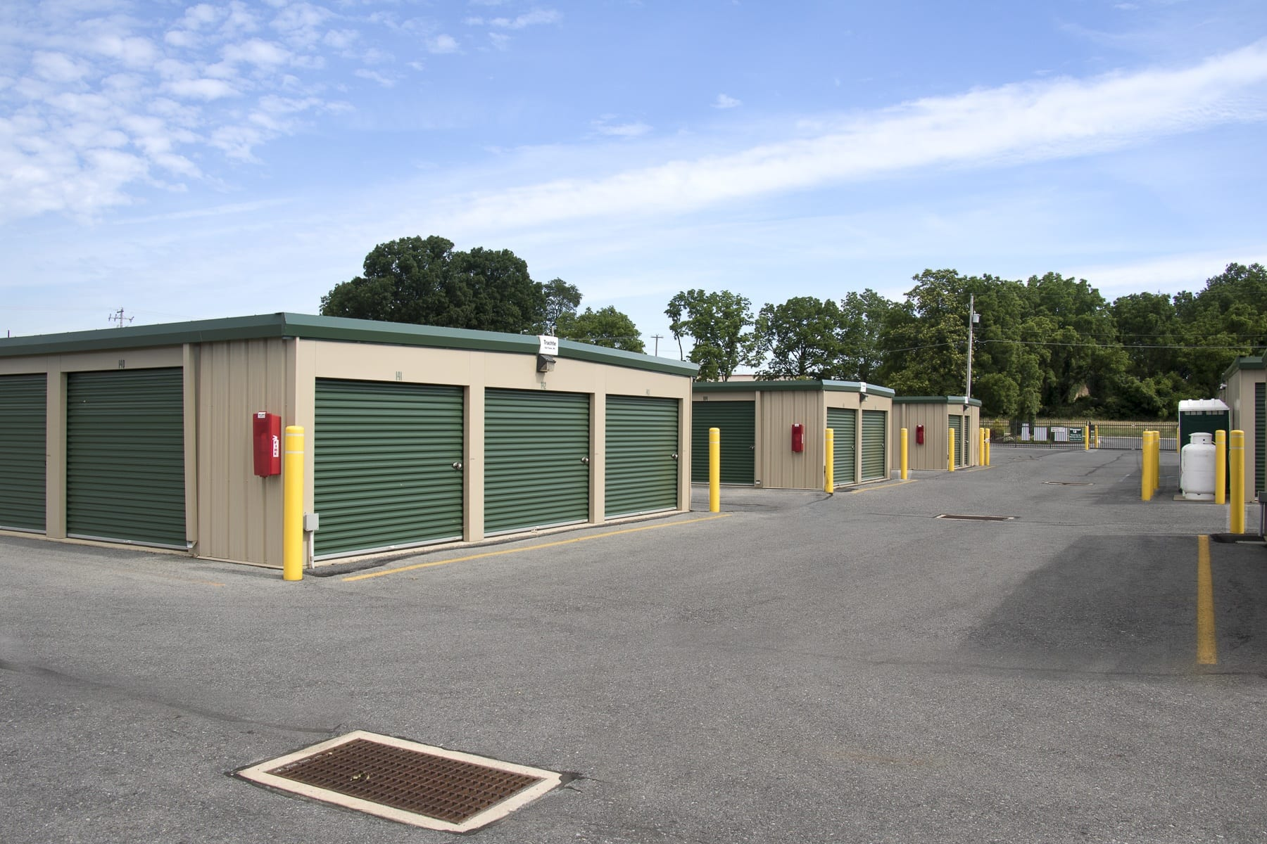 Drive Up Storage Units @ Storage World