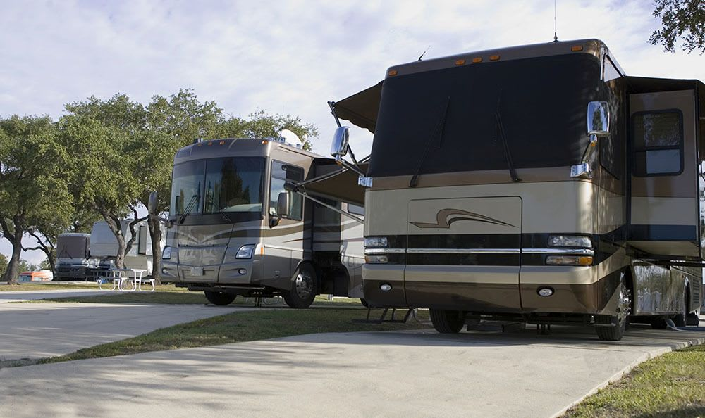 We love your motorhome at Storage World