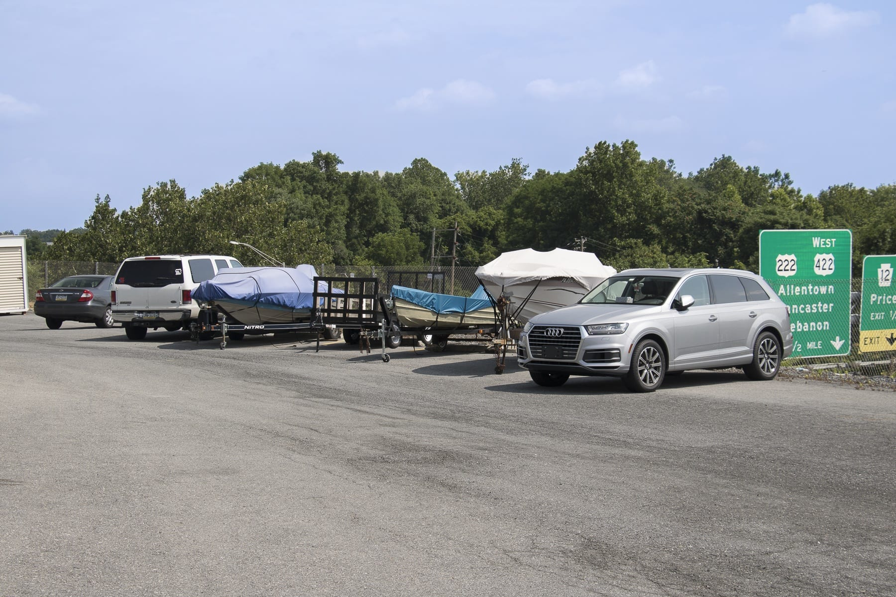 Vehicle & Boat storage in Reading PA