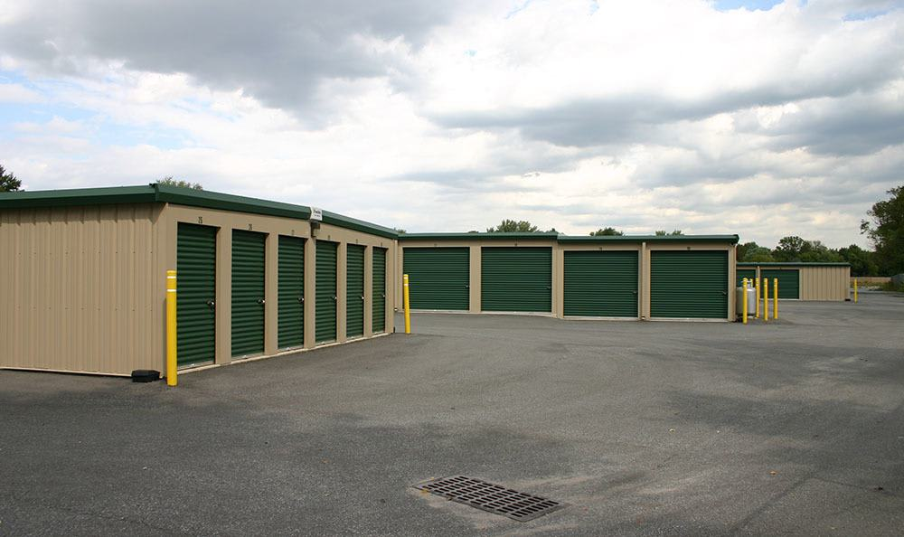 Some of our outdoor units at Storage World