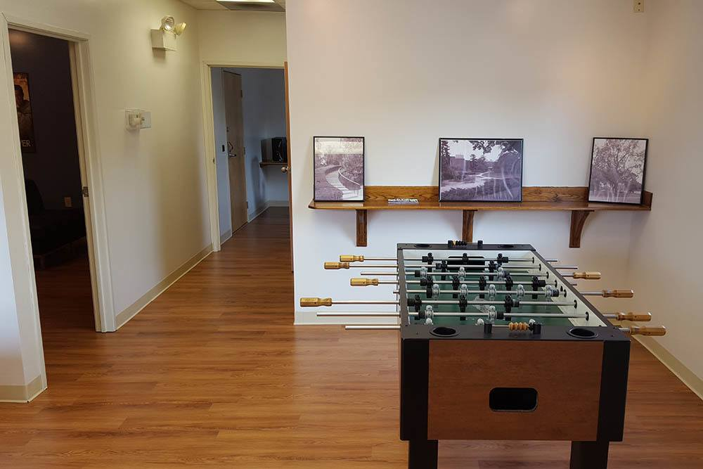 Foosball At Our Student Apartments In Shippensburg Pa