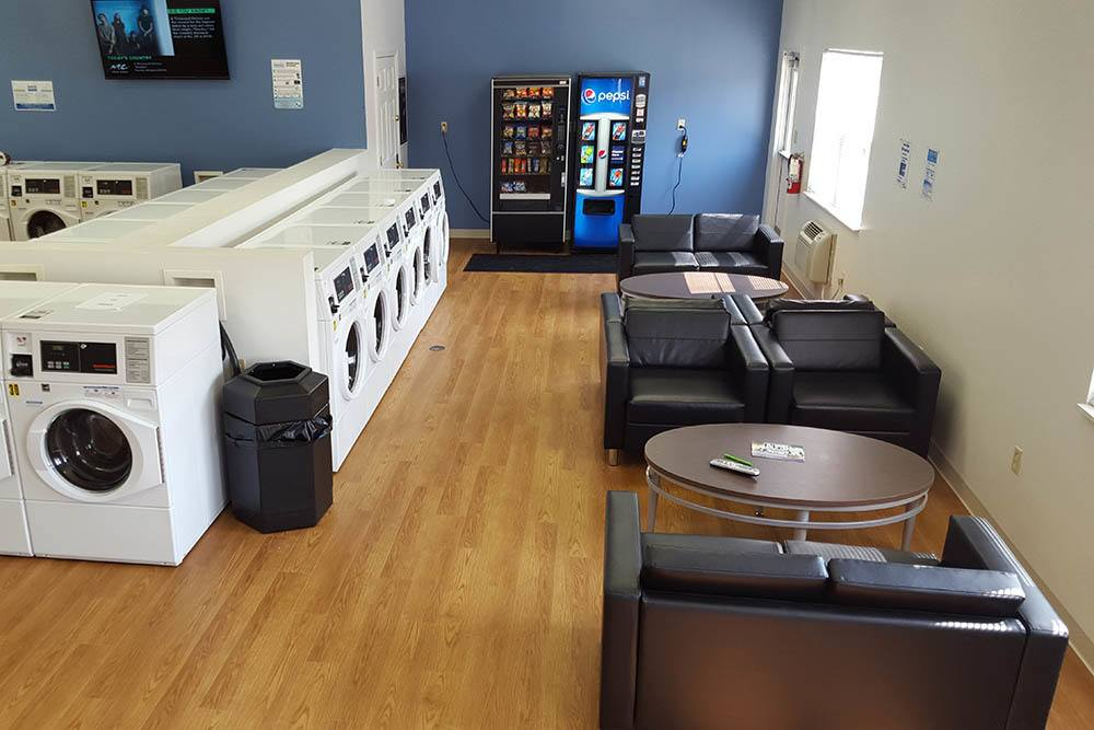 Luxury Laundry Room At Our Student Apartments In Shippensburg Pa