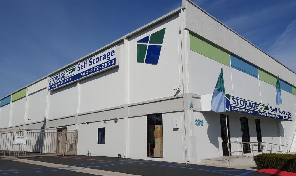 Self Storage Rental Office at Storage Etc... Long Beach
