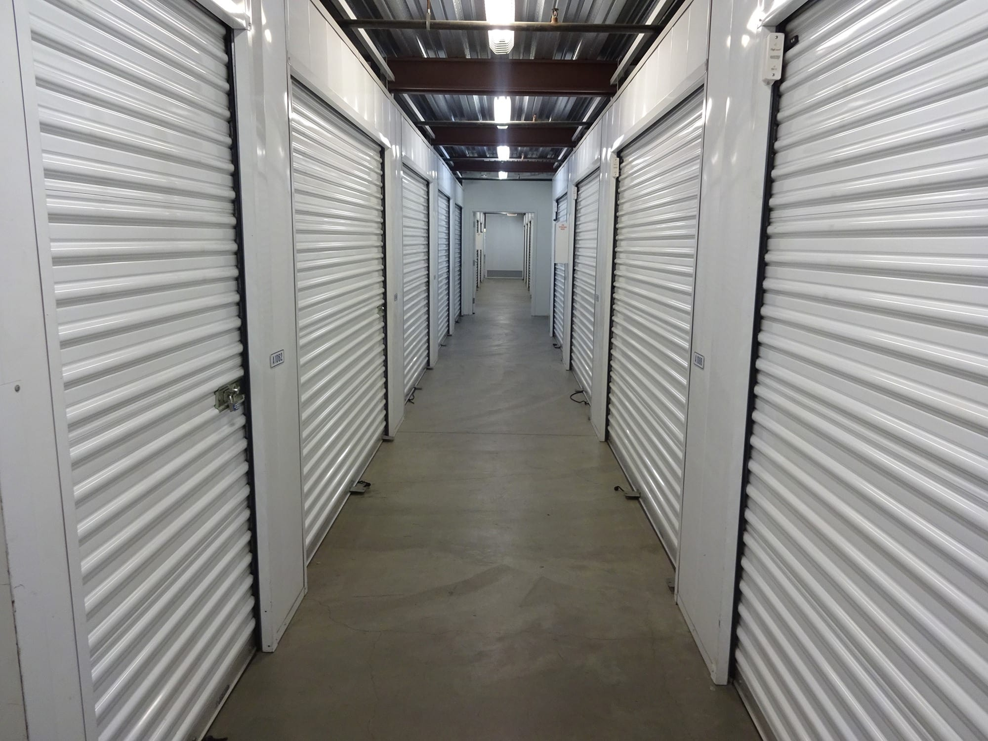 Elevator Access Units at Storage Etc... Long Beach