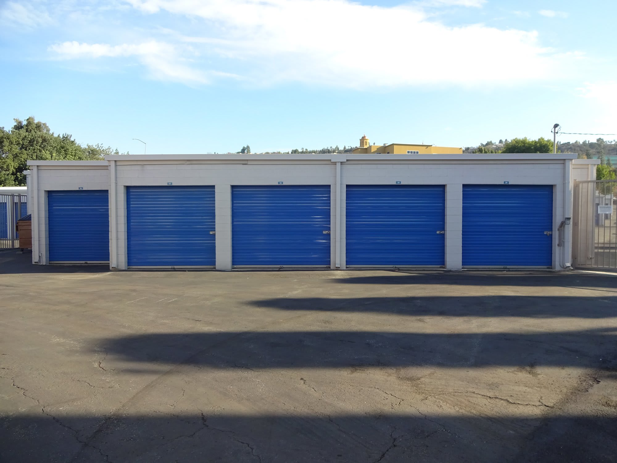 Outdoor Storage Units at Storage Etc... Diamond Bar