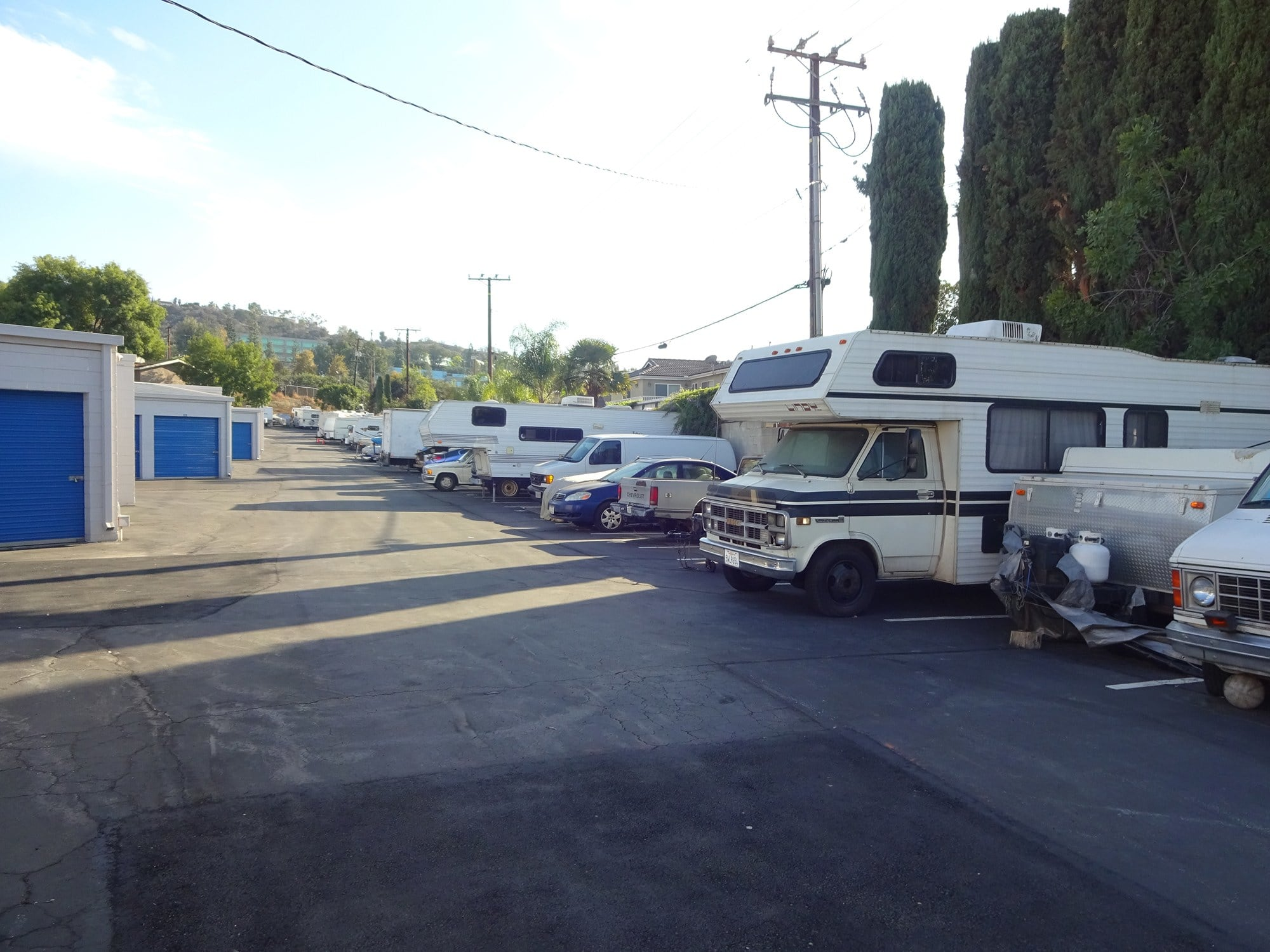 Auto, Boat, & RV Parking at Storage Etc... Diamond Bar