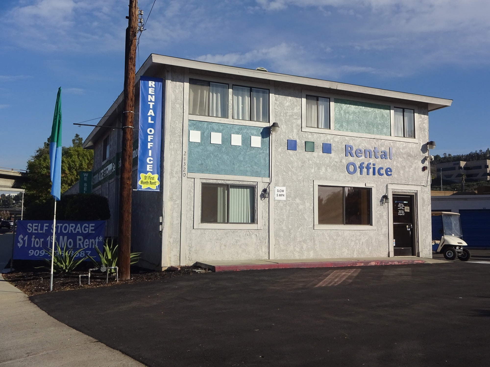 Self Storage Rental Office at Storage Etc... Diamond Bar