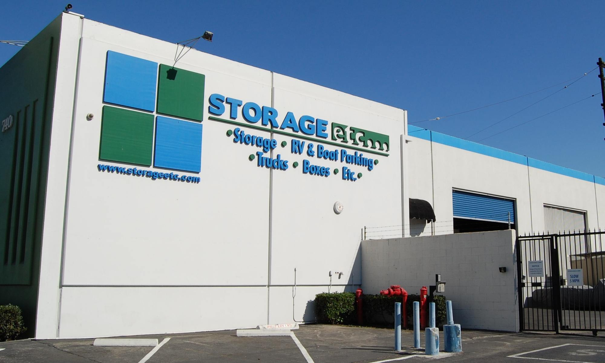 Self storage in Gardena CA