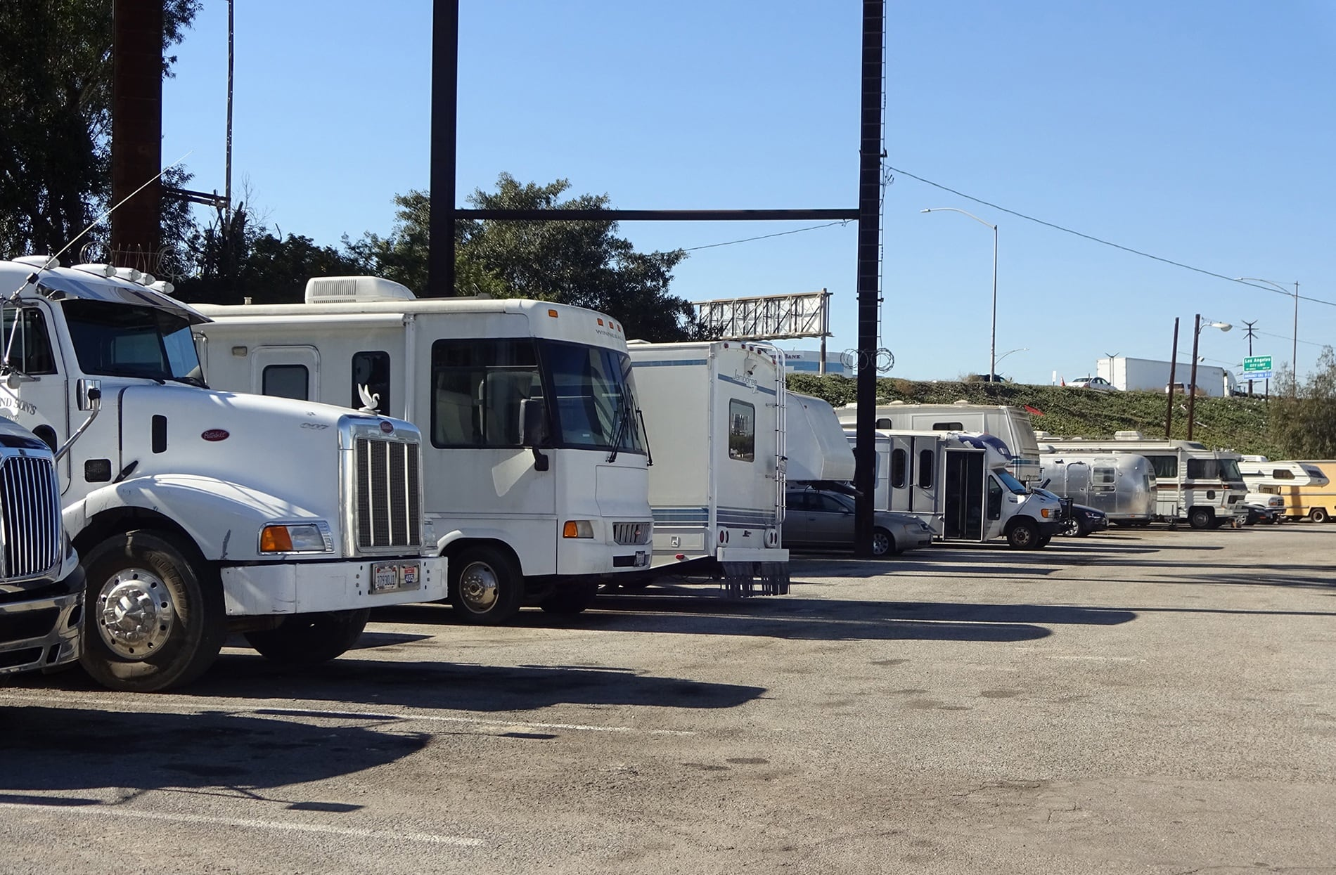 RV and Vehicle Storage at Storage Etc... Gardena