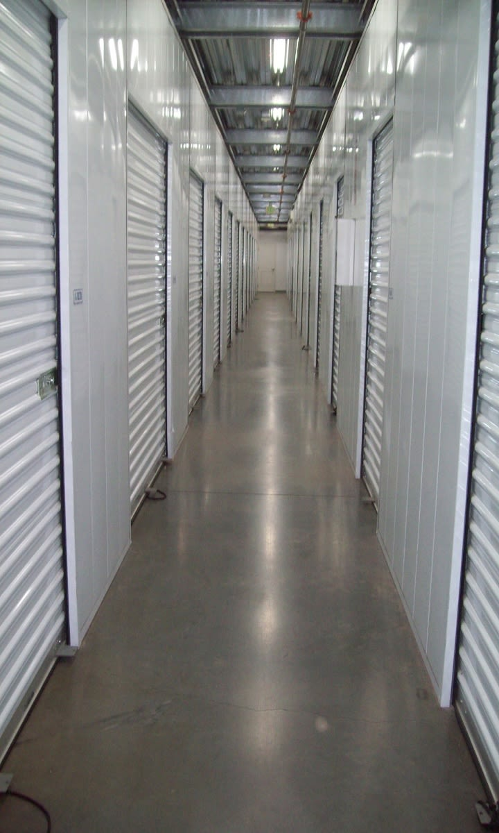 Storage Hallway at Storage Etc... Hancock St