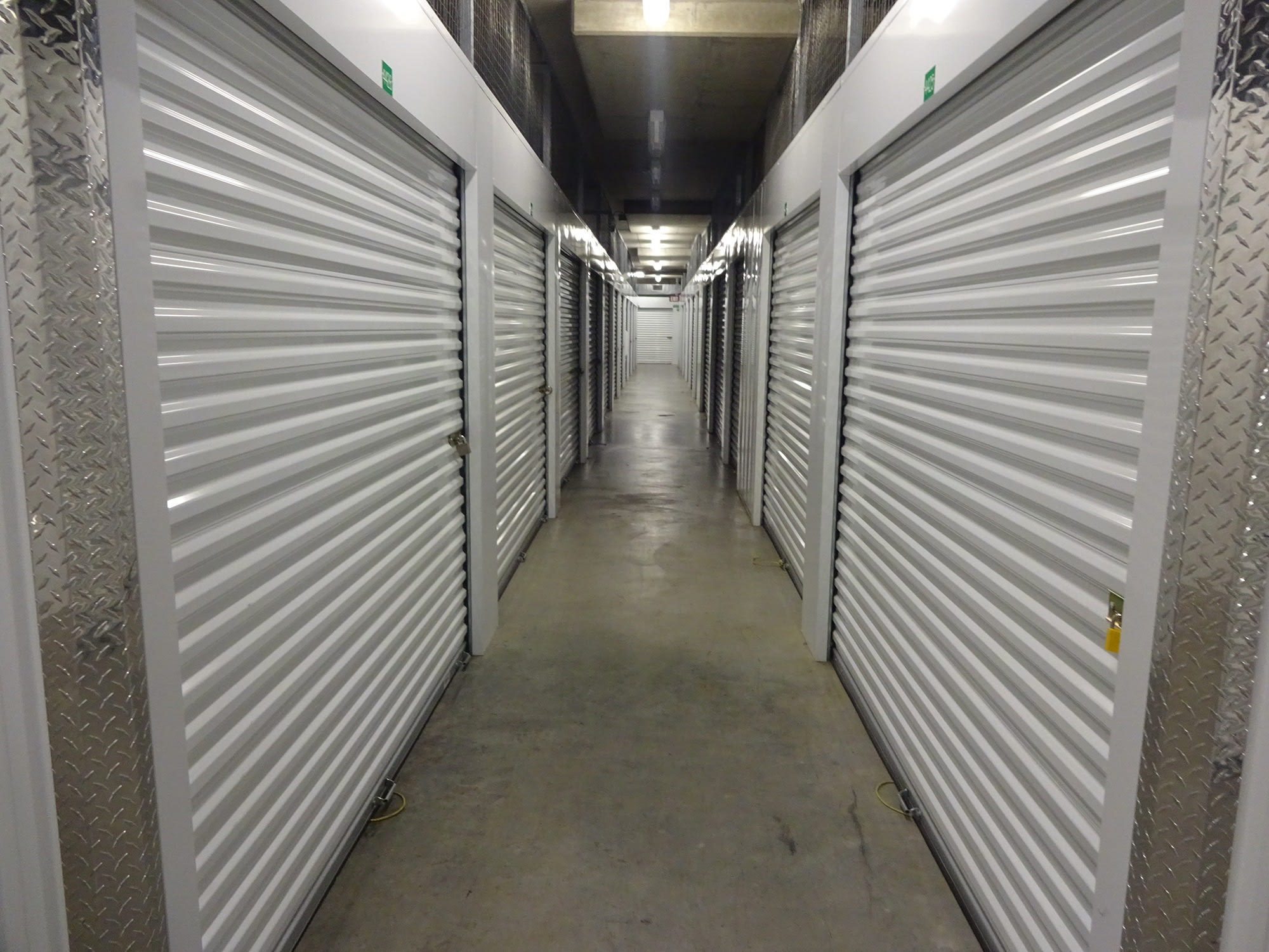 Elevator Access Storage Units at Farmers Market Self Storage