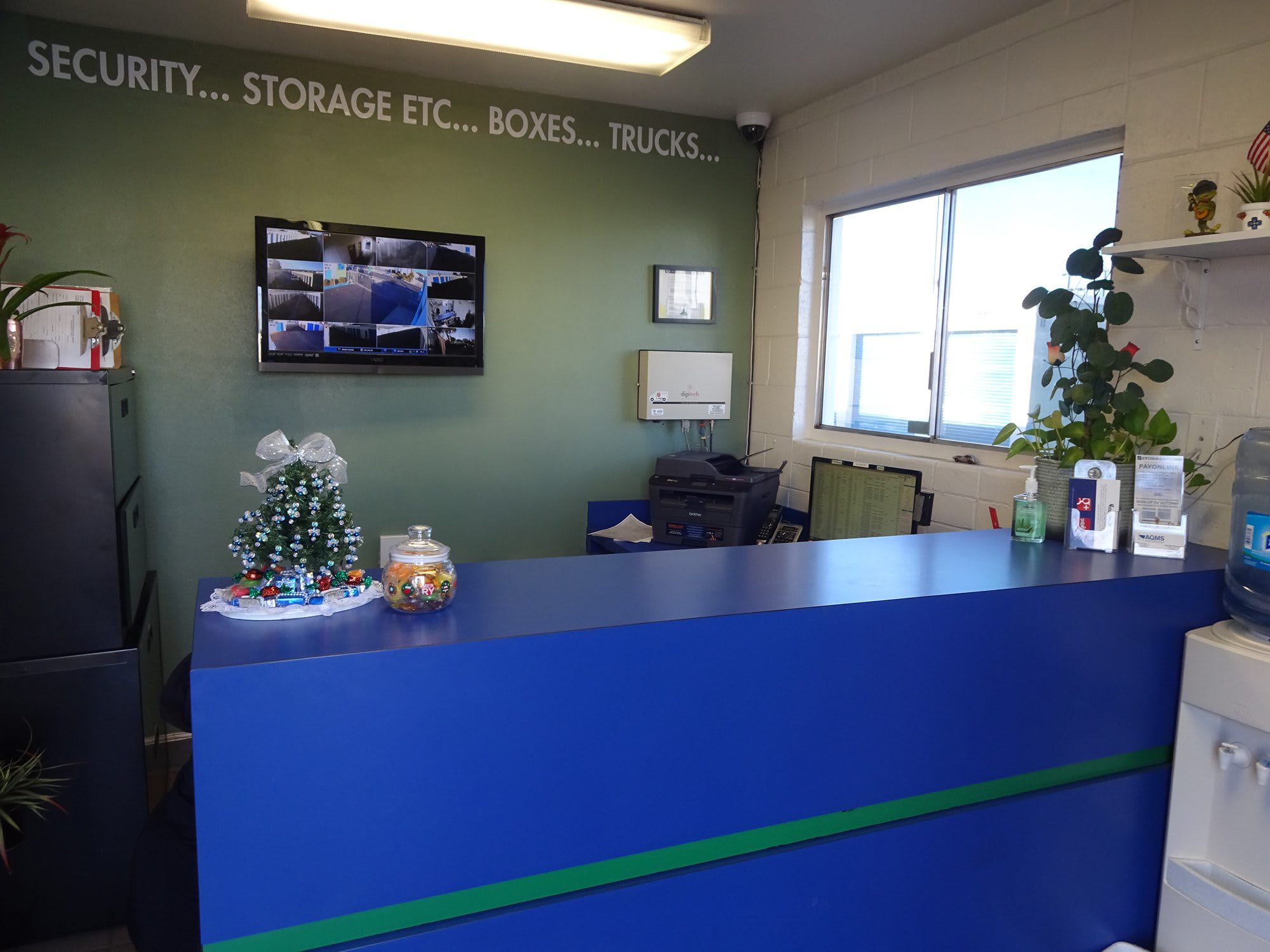 Self Storage Rental Office at Storage Etc... Canoga Park
