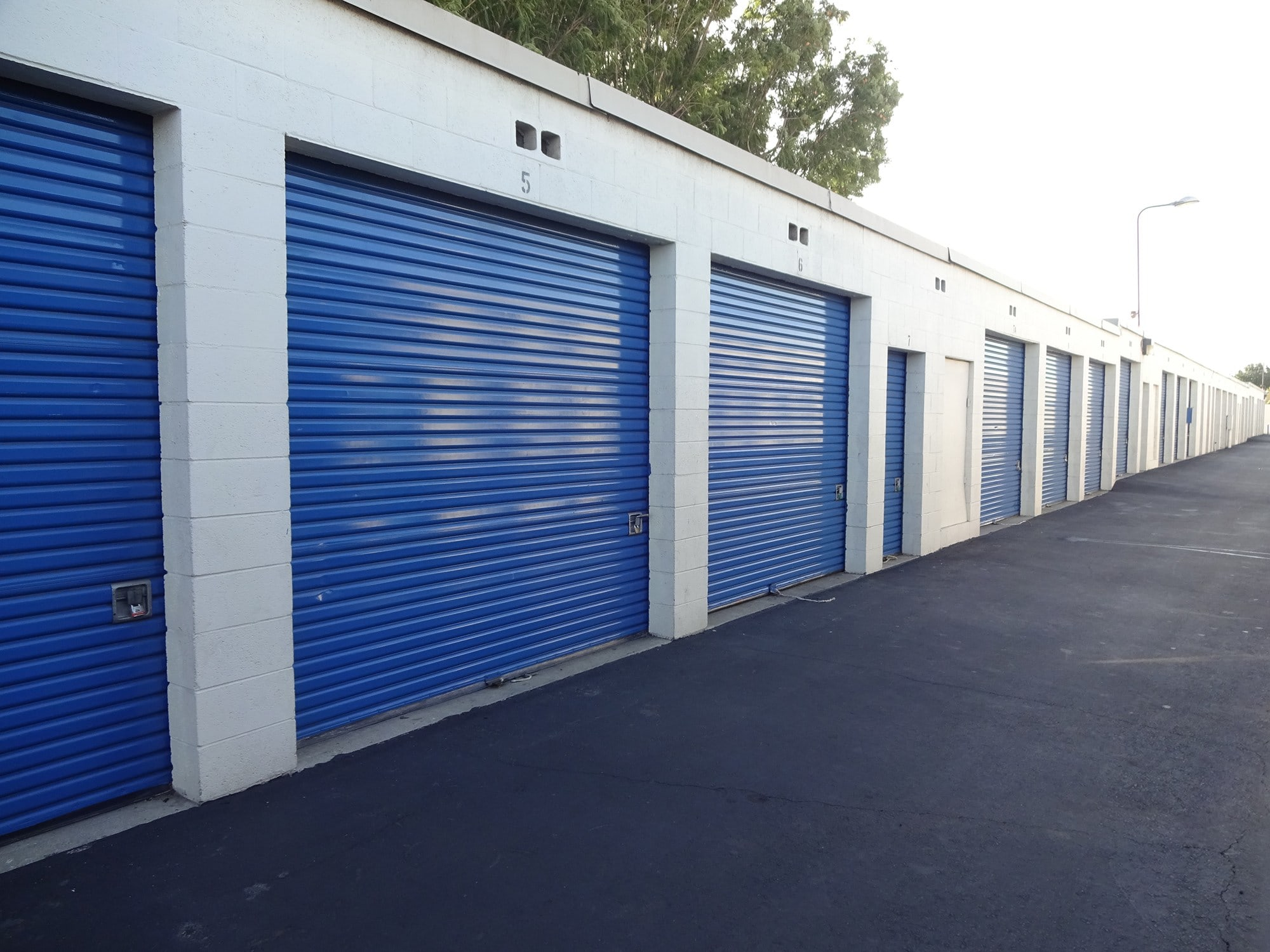 Drive Up Storage Units at Storage Etc... Canoga Park