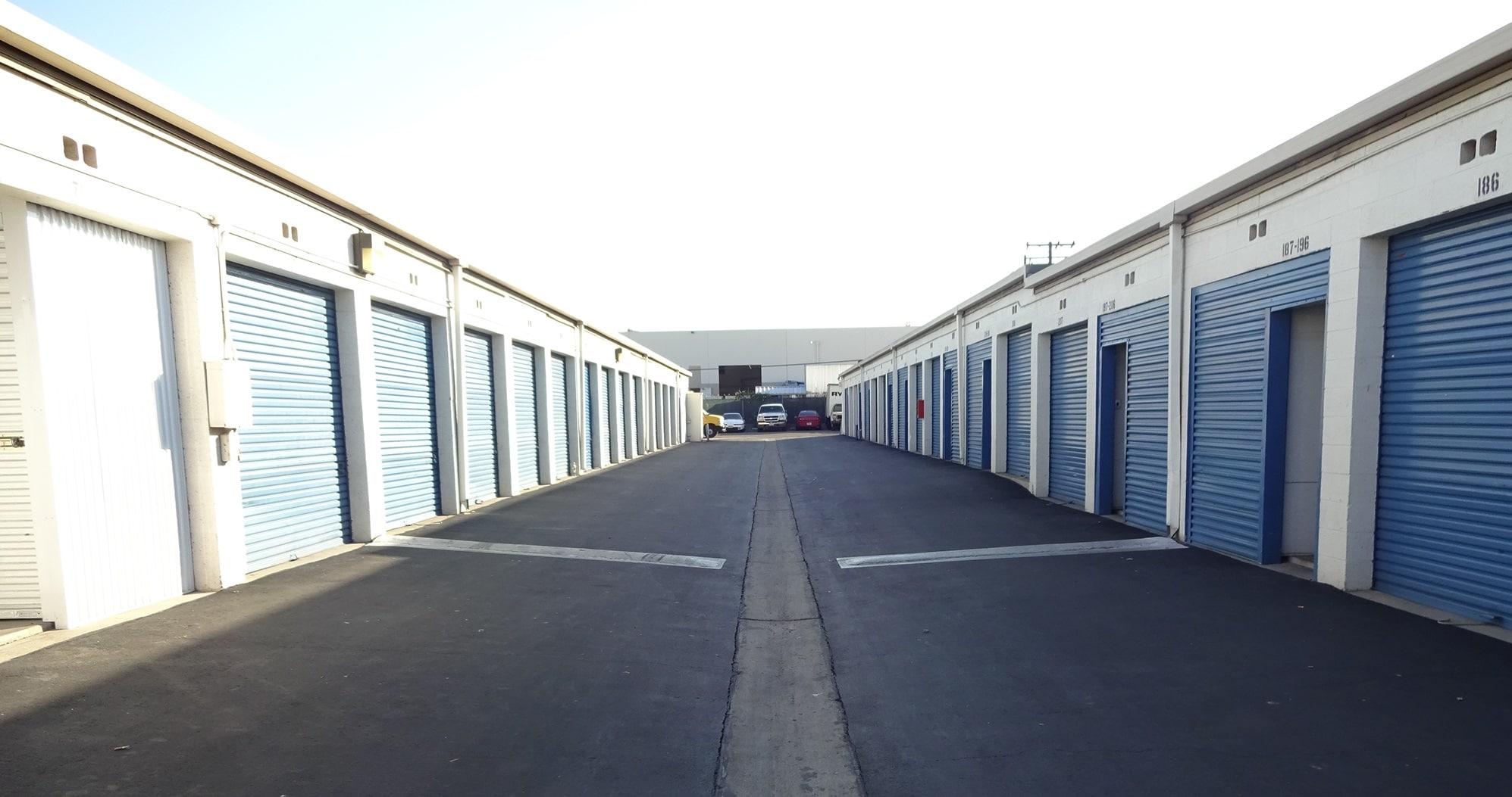 Drive Up Storage Units at Storage Etc... Anaheim