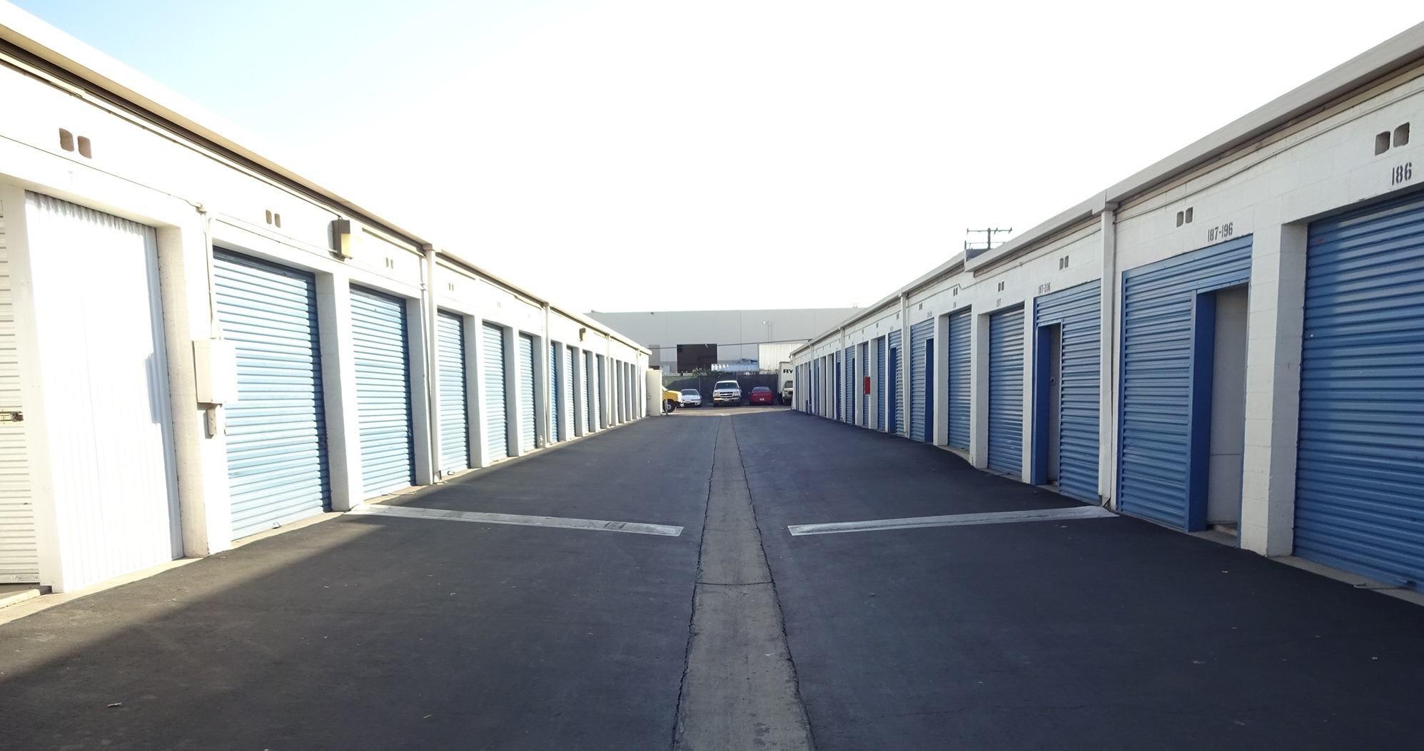 Self storage in Anaheim CA