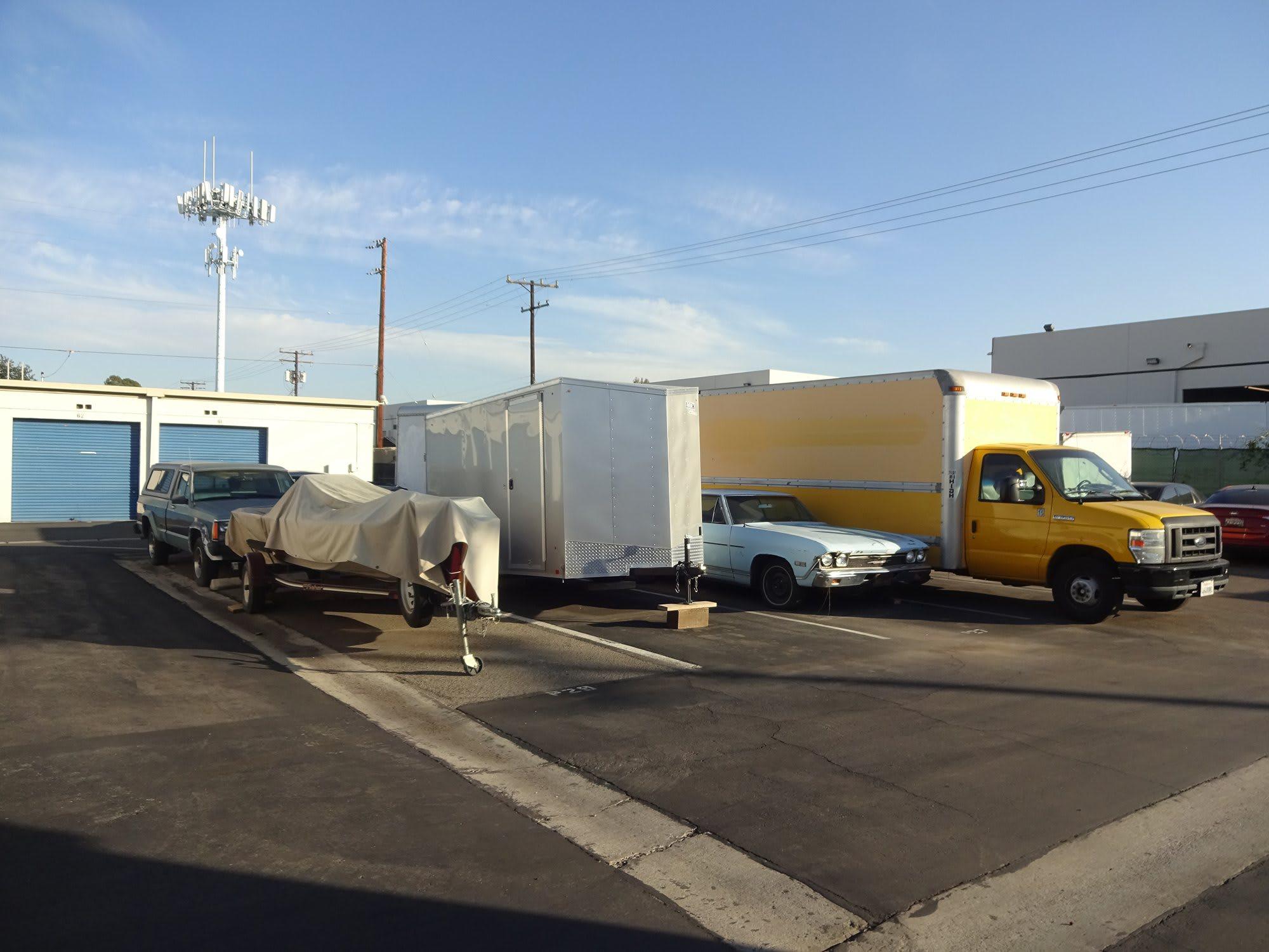 Auto, Boat, & RV Parking at Storage Etc... Anaheim