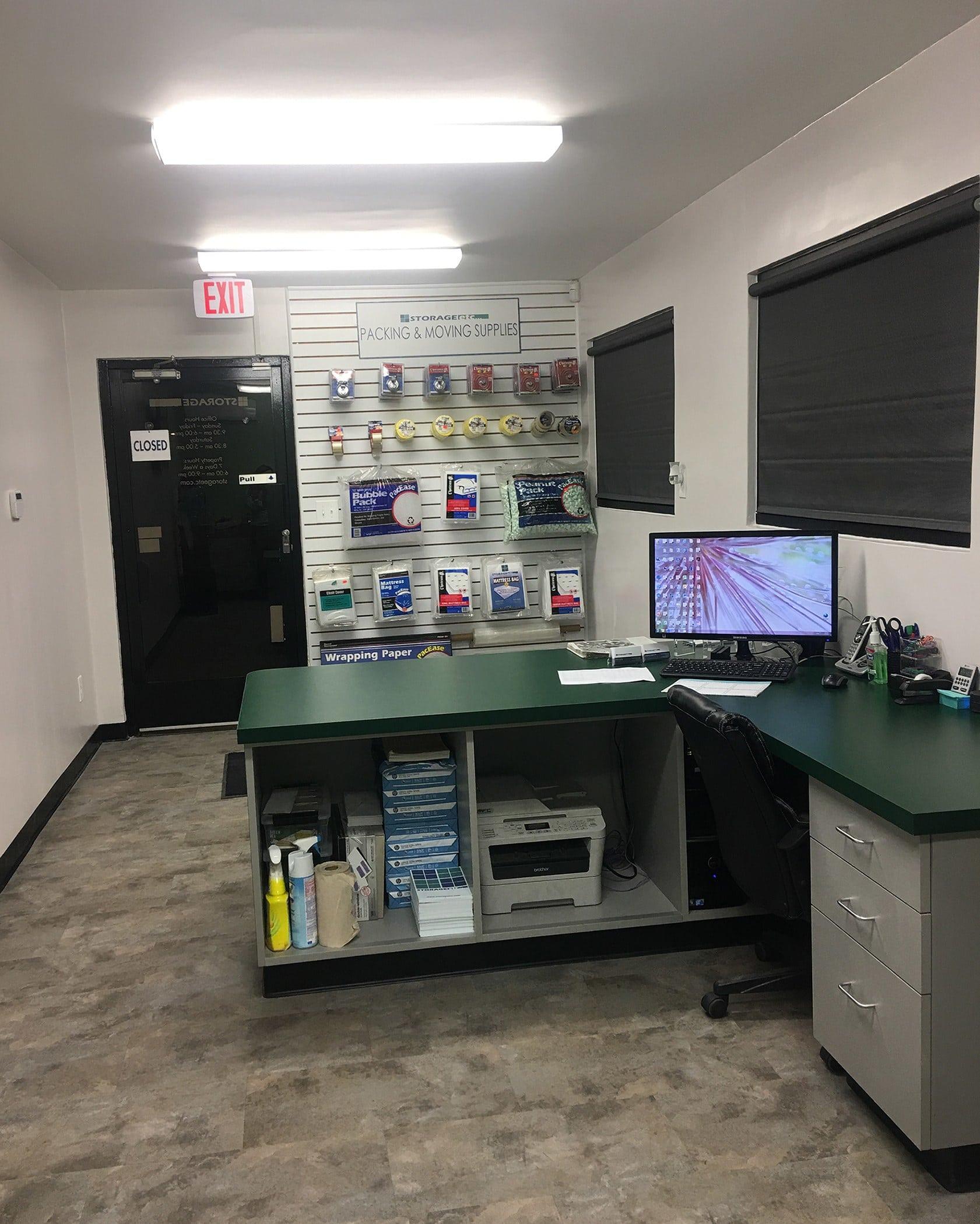 Self Storage Rental Office at Storage Etc... Anaheim