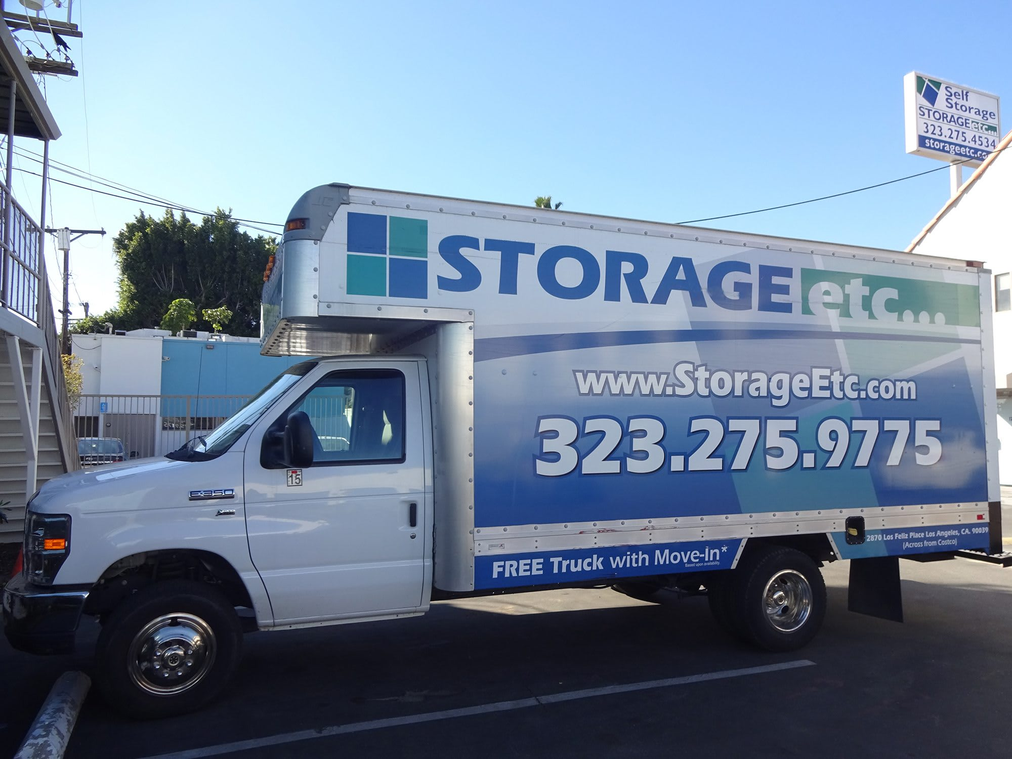 Storage Moving Truck at Storage Etc... Los Feliz