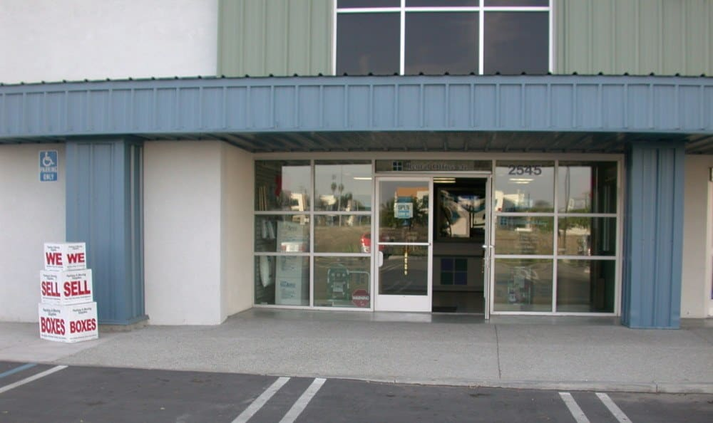 Self Storage Front Rental Office at Storage Etc... Torrance