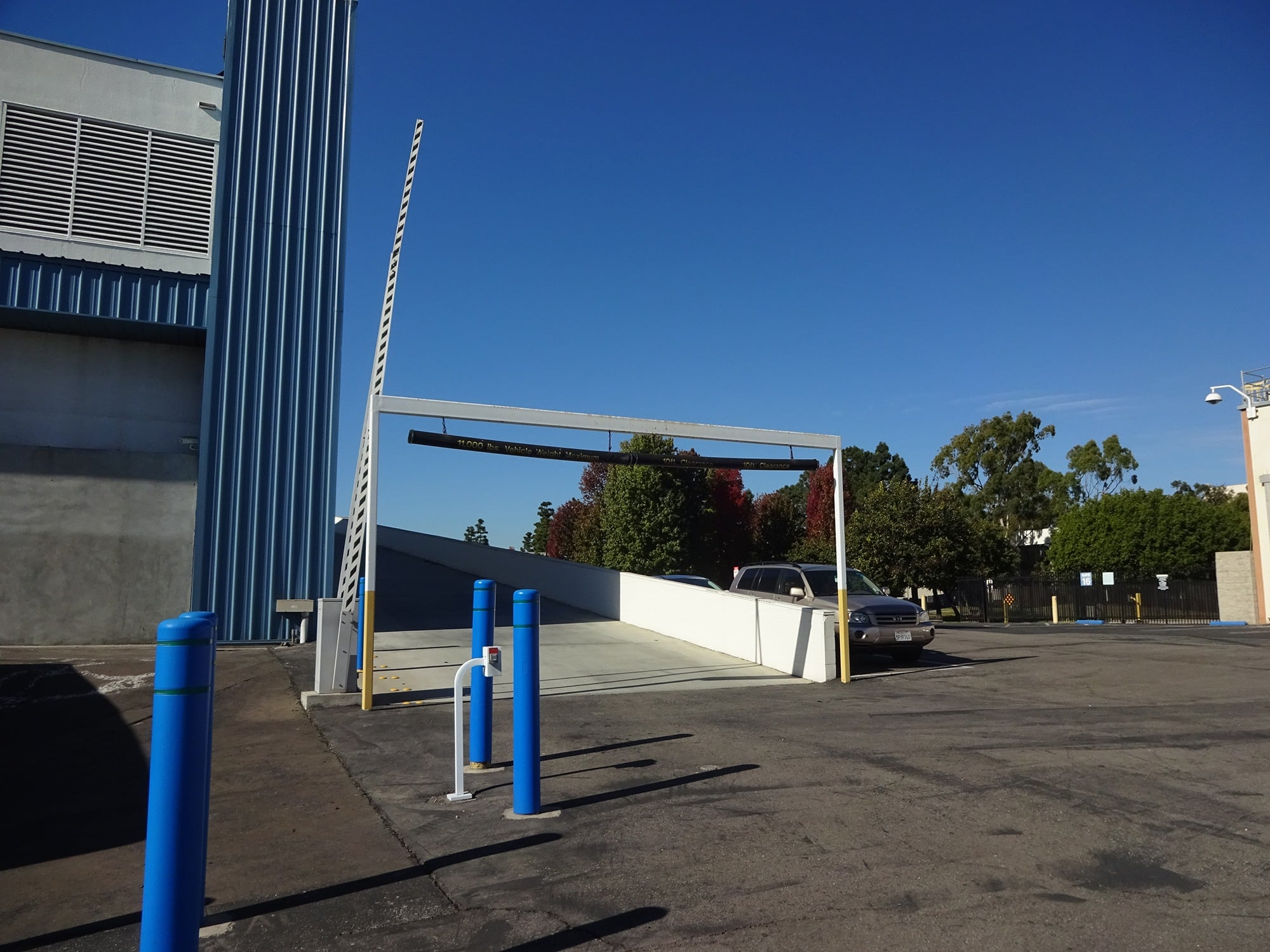 Secure Property Entrance at Storage Etc... Torrance