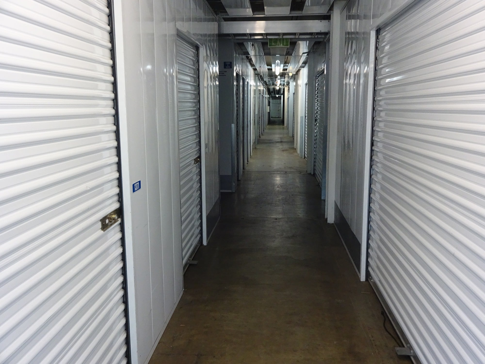 Storage Units Walkway at Storage Etc... Torrance