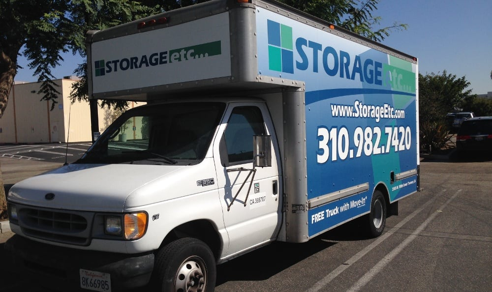 Moving Truck at Storage Etc... Torrance
