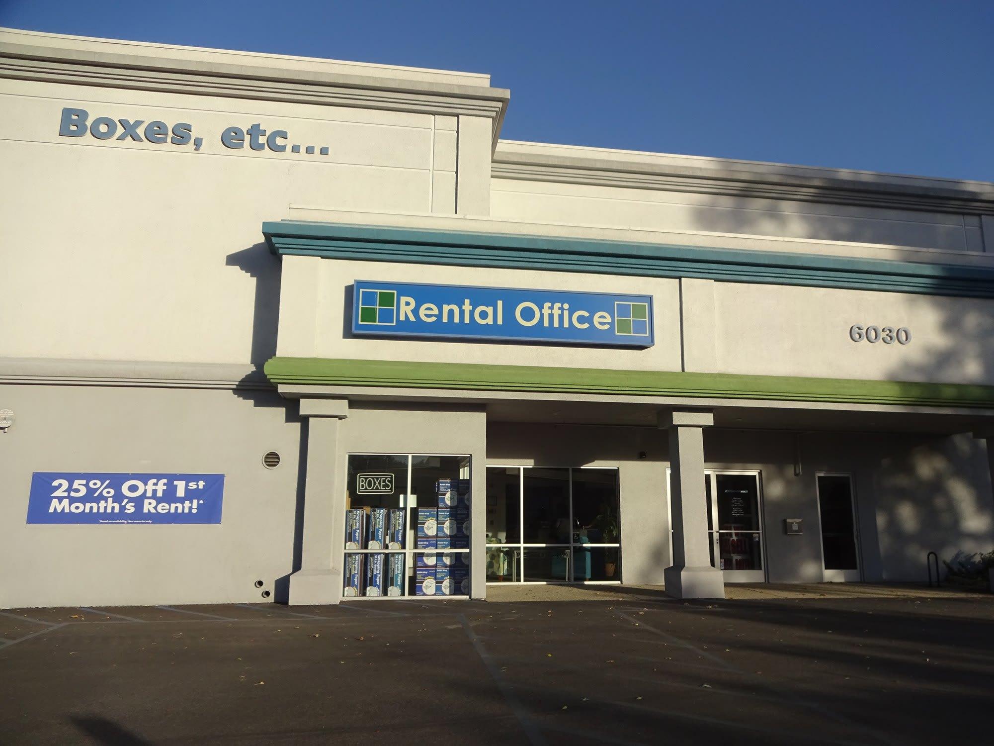 Self Storage Rental Office at Storage Etc... Woodland Hills