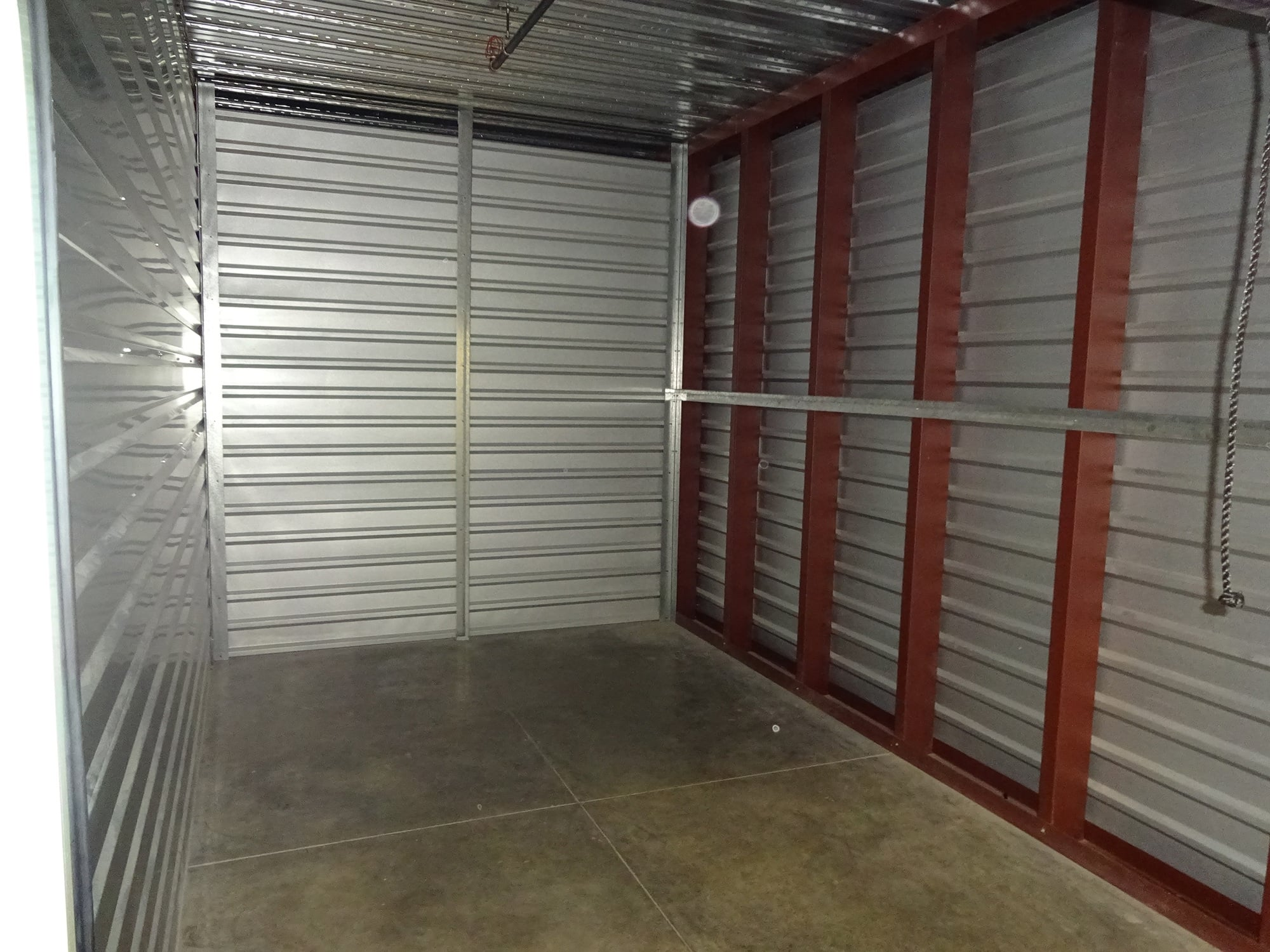 Self Storage Unit Interior at Storage Etc... Woodland Hills