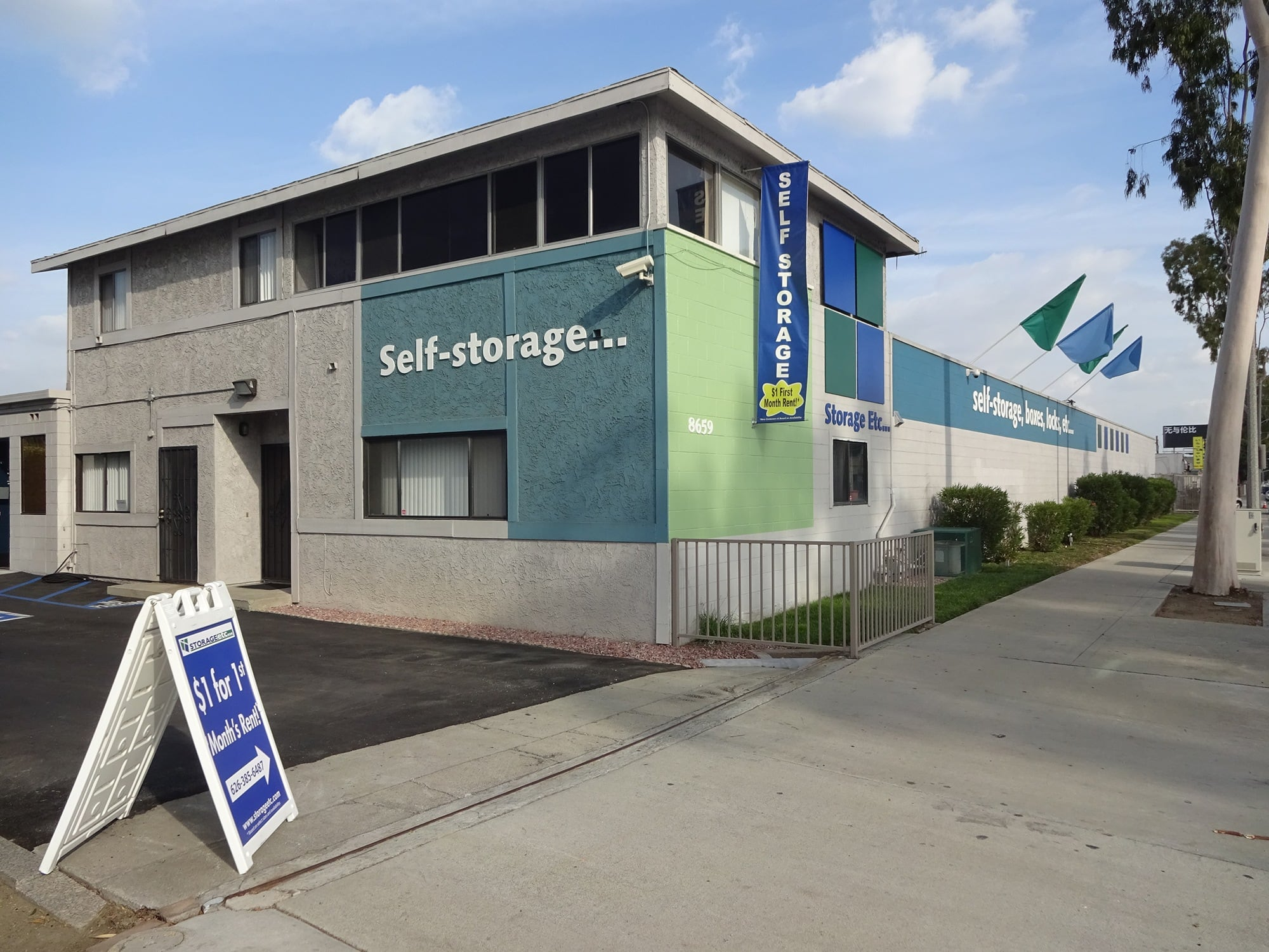 Self Storage Rental Office at Storage Etc... Rosemead
