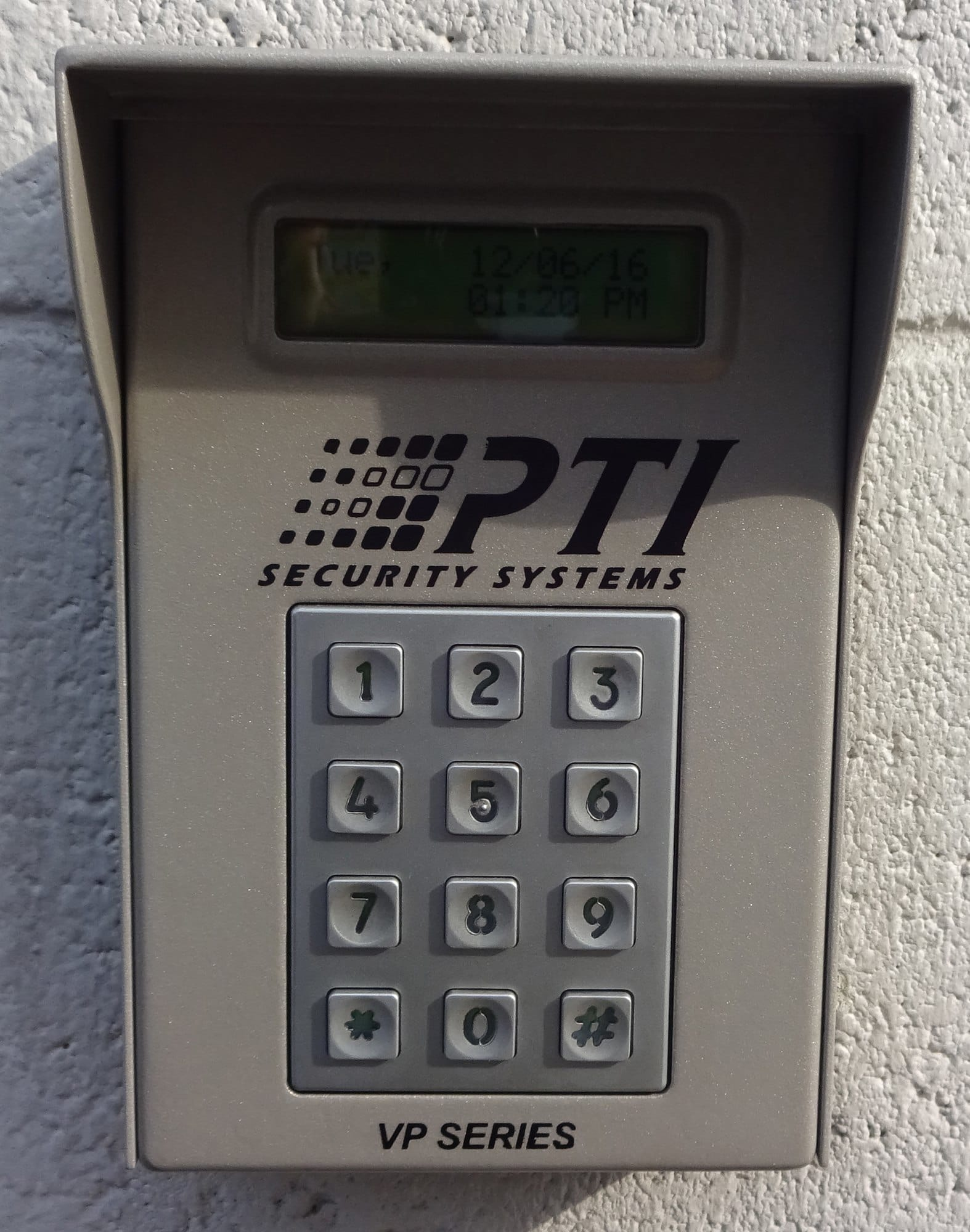 Security Keypad at Storage Etc... Rosemead
