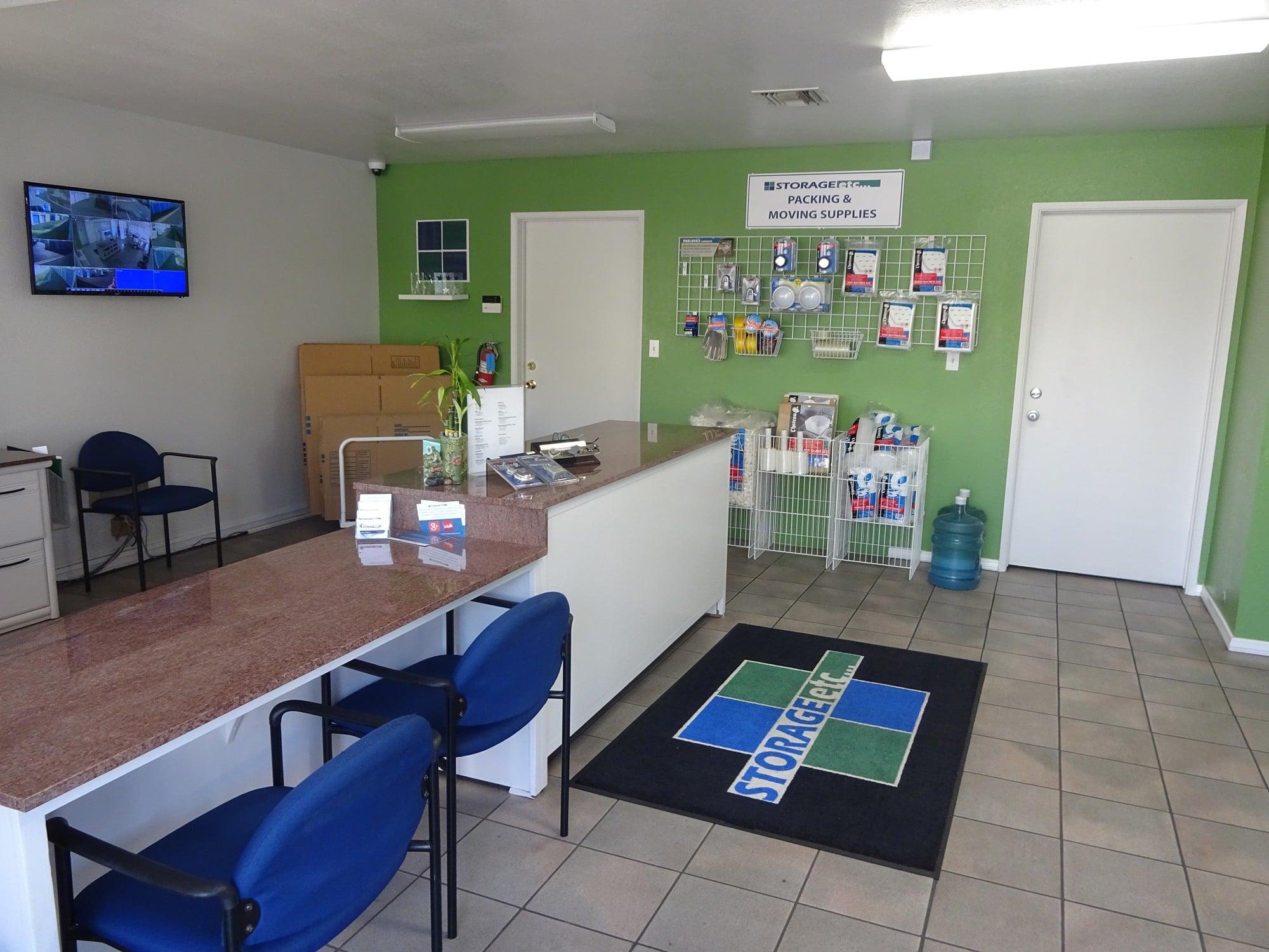 Self Storage Rental Office at Storage Etc... Pomona