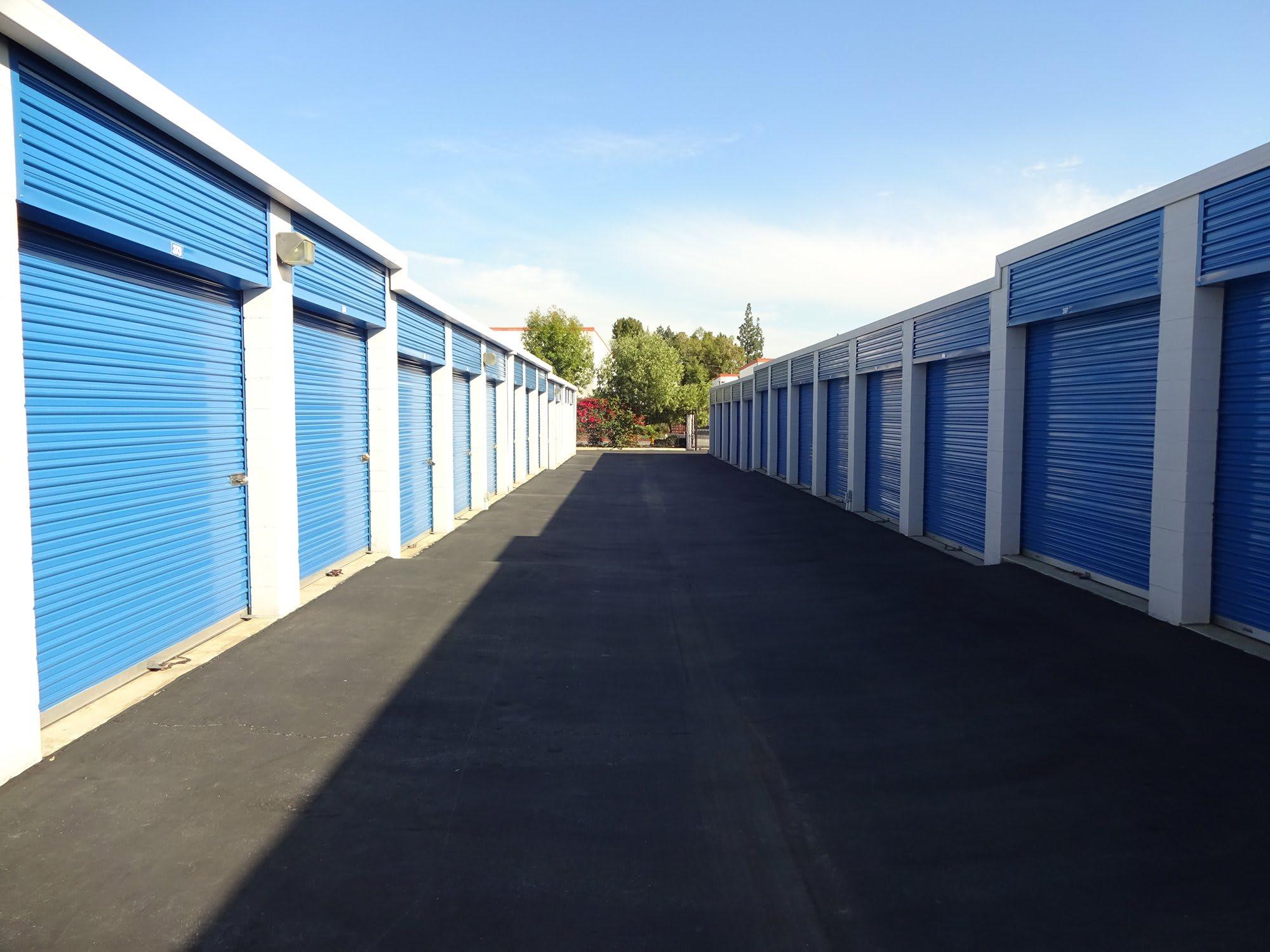 Drive Up Storage Units at Storage Etc... Pomona