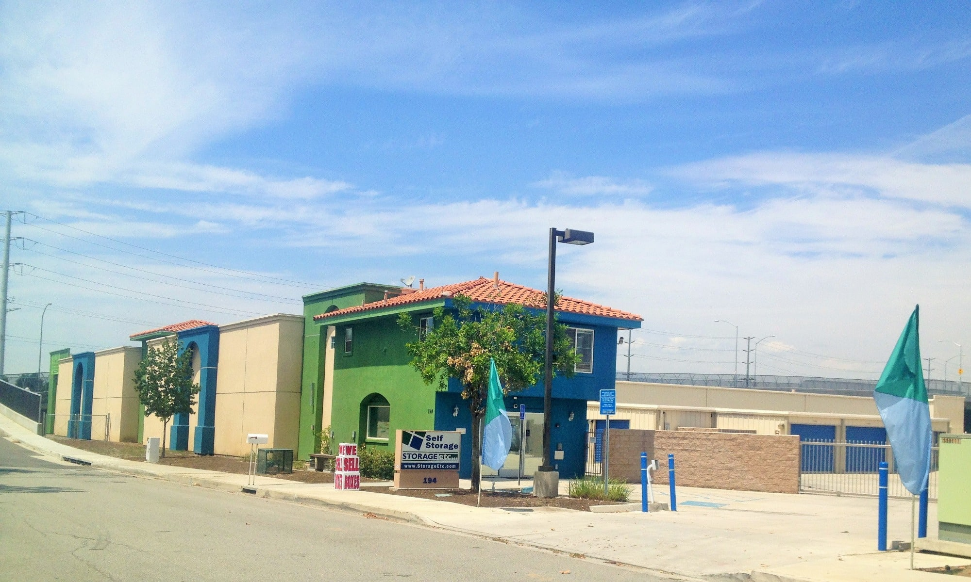 Self storage in San Bernardino CA
