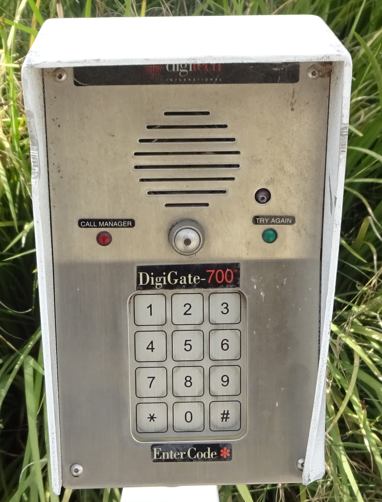 Security Keypad at Storage Etc... San Bernardino