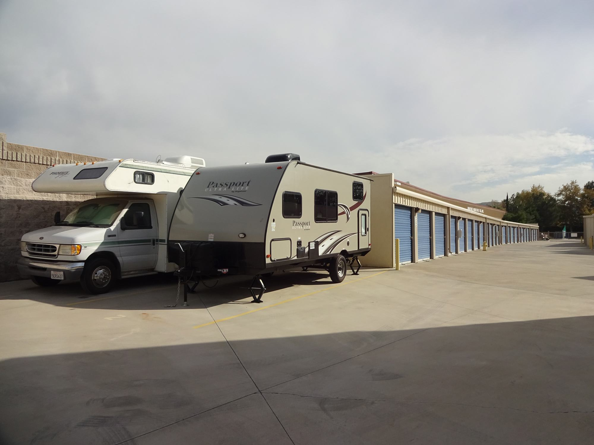 Auto, Boat, & RV Parking at Storage Etc... San Bernardino