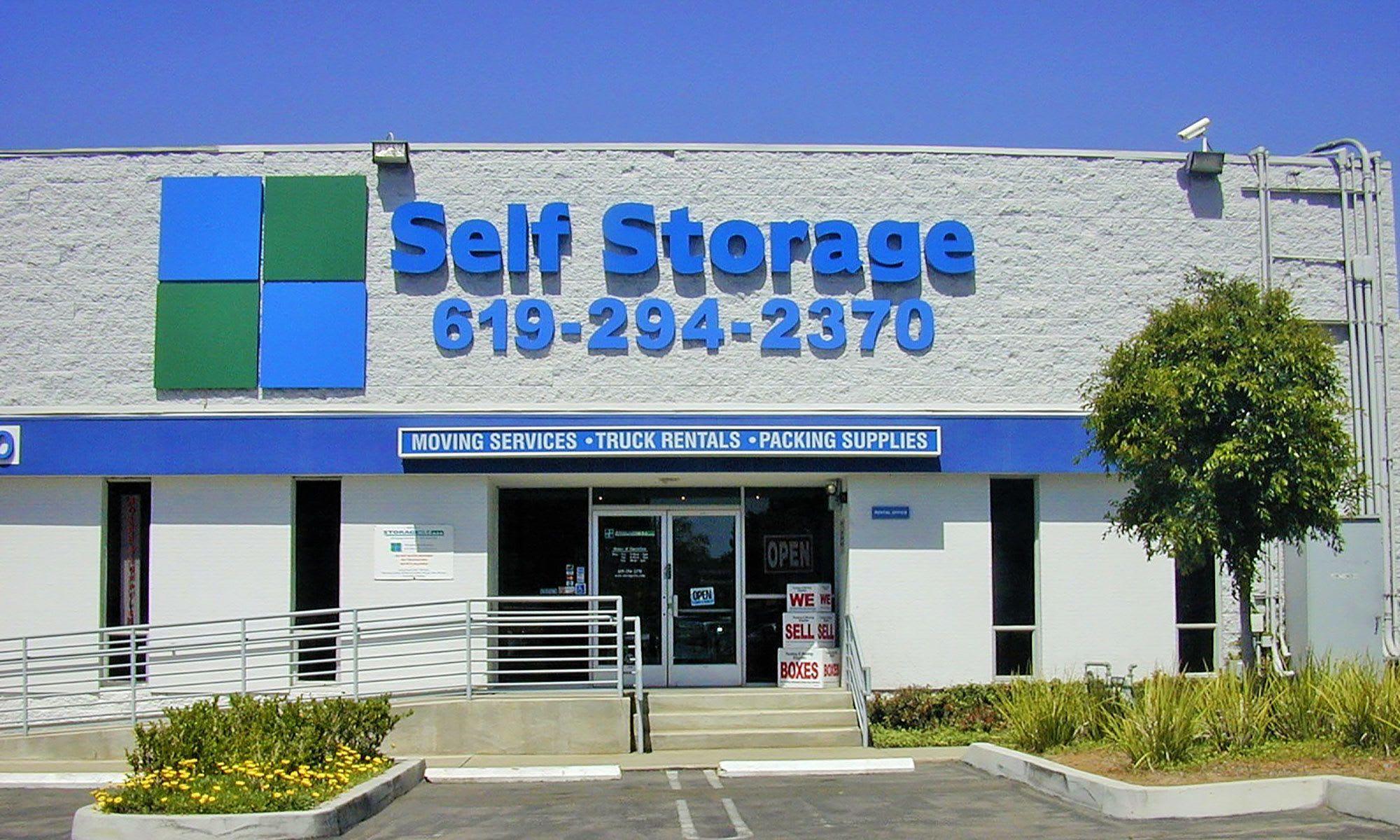 Self storage in San Diego CA