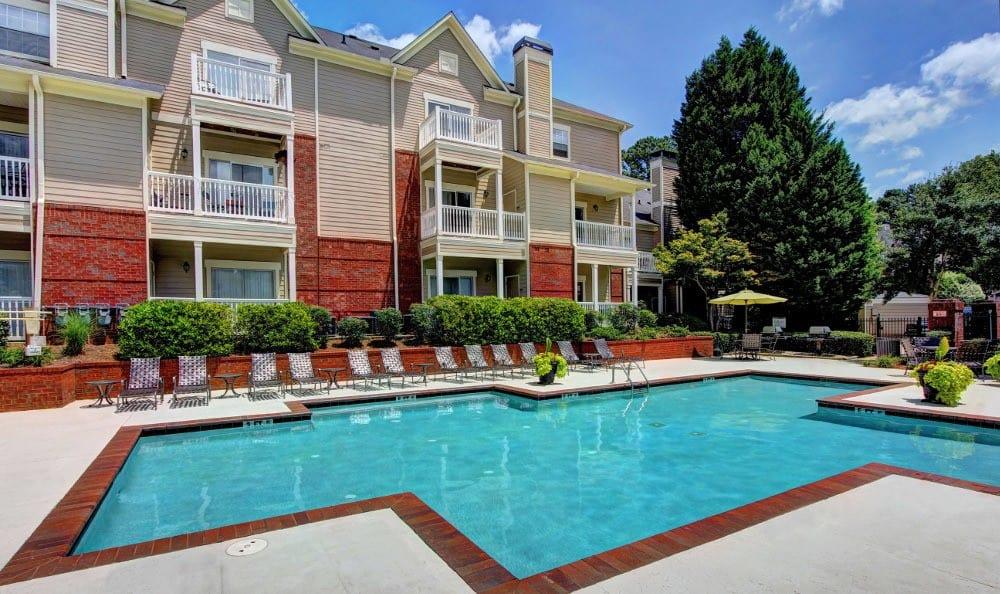 Enjoy a day at the pool at Marquis at Briarcliff in Atlanta, Marquis at Briarcliff