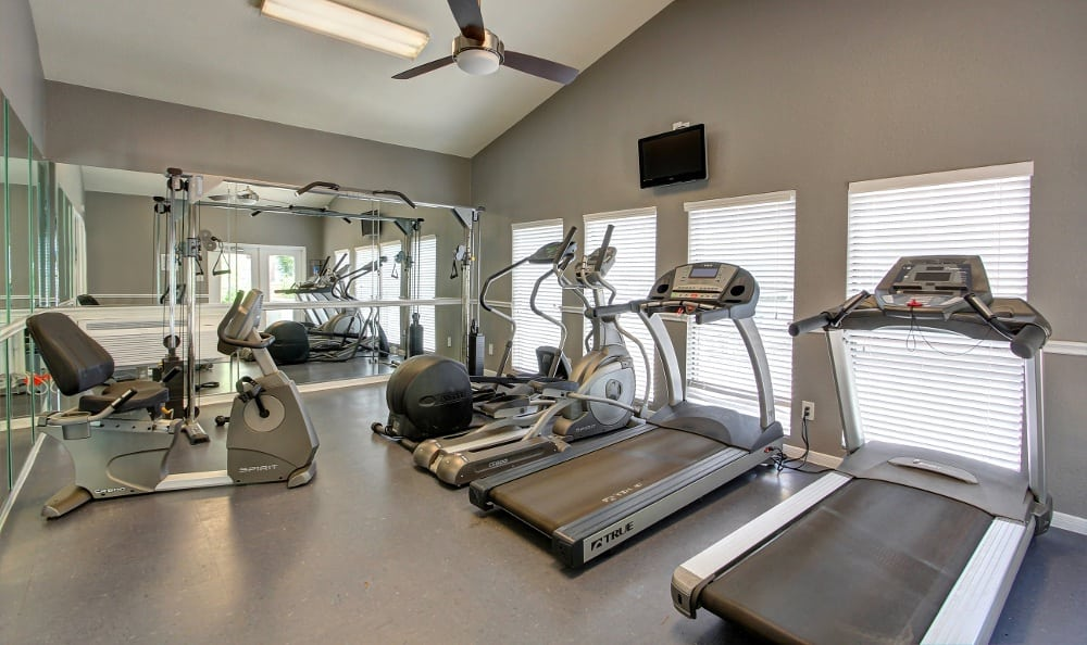 Get in shape at Austin Midtown Apartments in Austin, TX